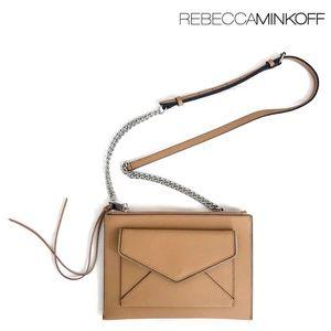 Rebecca Minkoff Leather Envelope Flat Crossbody